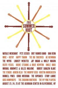 Murphy Beds to play 2013 Summer Hoot at the Ashokan Center